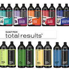 MATRIX Total Results Shampoo & Conditioner LITER DUO SET - ALL STYLES