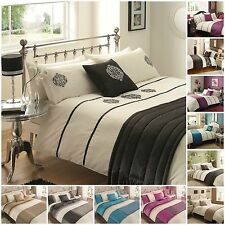 New 5 PC Bed in a Bag Matching Set -  Complete Duvet Quilt Cover Bedding Set