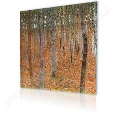 READY TO HANG CANVAS Forest Gustav Klimt Oil Painting Print Framed Paints
