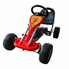 Pedal Go Kart for Kids Fun Play Toddler Ride Red Vehicle Car Bike Gift Toy
