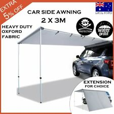 2M x 3M Awning Extension Roof Top Tent Trailer 4WD 4X4 Camping Car Rack Pull Out
