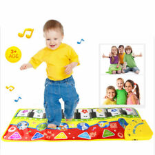 Toy Learn Singing Baby Kid Toy Piano Keyboard Blanket Touch Play Musical Blanket