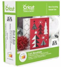 Cricut Merry Everything Cartridge Rob & Bob *NEW* Works With All Cricut Machines