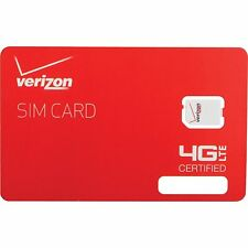 Verizon Prepaid SIM Kit Talk Text & 4G LTE 1st Month FREE $40$50$60$80 UNLIMITED