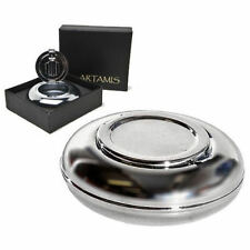Personalised Round Travel Pocket Ashtray (Engraved Gift)