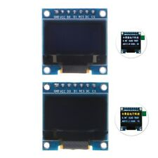 "0.96"" I2C IIC SPI Serial OLED LCD LED Display Module White Yellow Blue 128X64"