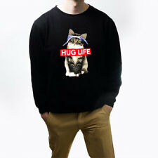 Hug Life Kitty Cat Sweatshirt Kitty Cat Unisex Sweater S,M,L,XL,2Xl,3XL,4XL,5XL