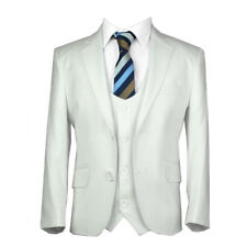 Sirri, Kids Pageboy Ivory Formal Communion Suits Boys Off-White Slim Fit Suit