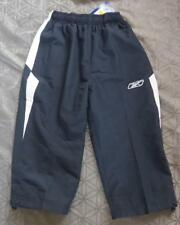 Reebok navy white shell tracksuit  3/4 pants trousers Boys L *BNWT* A707