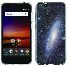 for ZTE Blade Vantage/Avid 4(Andromeda Galaxy)Clear gel skin phone case cover