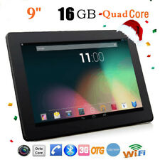 9 inch HD QUAD CORE 1GB+16GB Dual Camera WIFI 3G Tablet PC Android 4.4 Phablet