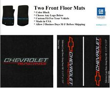 1978-2003 Malibu 2 pc Floor Mats Custom Fit with Choice of Front Logos