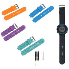 Silicone Watch Band Strap w/Tool for Garmin Forerunner 630 620 220 230 235 735XT
