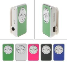 Music Media MP3 Player Mini Clip Support TF Card With Earphone