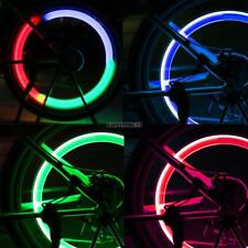 Bike Light Bicycle Cycling Spoke Wire Tire Tyre Silicone LED Wheel 4Colors