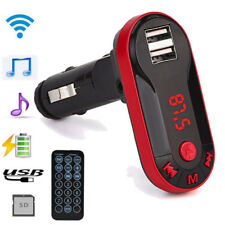 Bluetooth Wireless FM Transmitter MP3 Player Car Kit USB TF SD Remote Delightful