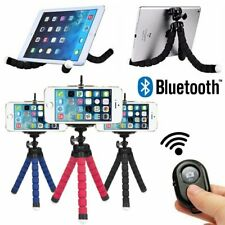 Wireless Bluetooth Tripod Flexible Octopus Bracket Holder Stand Mount for iPhone