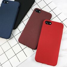 Ultra Thin Shockproof Matte Rubber Soft Case Cover For Apple iPhone 8 X Plus 6 7