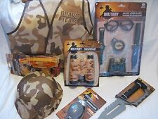Play Dress Up Desert or Jungle Camo Camouflage Military Army Soldier Alpha Bravo
