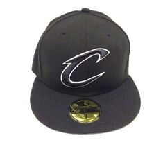Cleveland Cavaliers Cavs New Era 59FIFTY Black on Black Fitted Cap (NEW)