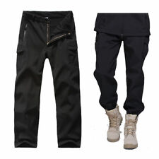 Mens Outdoor Waterproof Soft Shell Tactical Hiking Climbing Golf Pants Trousers