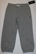 NWT Polo Ralph Lauren Boy's Gray Toddler Sweat Pants Size 3/3T 4/4T