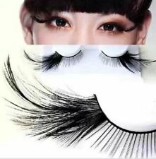 Black Long Tail False Feather Eyelashes Extension Party Stage Makeup