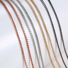 Multi Styles Chain Extra Length For Pendant Necklace Floating Charms Locket Gift