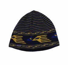 Kids Patagonia Beanie Hat Blue Yellow 66053-ANY