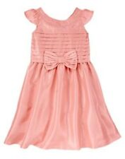 NWT Gymboree Spring Dressy Collection Pink Bow Dress 5 Easter Wedding Girl