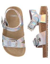 NWT Gymboree Mermaid cove Silver Sandals Shoes Girls many sizes