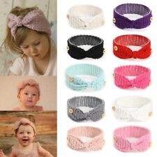 Knitted Baby Hair Band Headband Accessories Knot Warm For Kids Girls Head Wraps