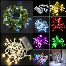 Fairy Copper Lights 40LED 4M Battery Operated Wire String Festival Holiday Decor