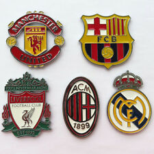 Exquisite Football Fans Car Decoration Stickers  3D Metal Solid Car Decals