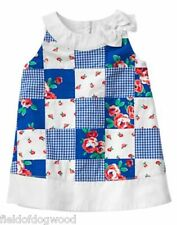 NWT Gymboree Gazebo Party Patchwork dress 0 3 6 12 18 24 M Baby girls Toddler