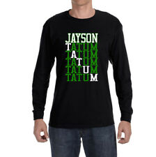 "Boston Celtics Jayson Tatum ""Tatum Text"" Long sleeve shirt"