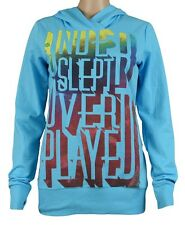 Bench Underslept Ladies Hoodie Sweatshirt, Sweater, Turquoise, NEW