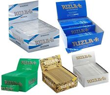 Rizla KING SIZE Any Color Cigarette Smoking Rolling Papers - 1 5 50 Booklets