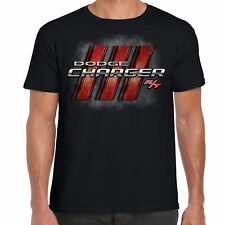 Mens Dodge Charger RT T Shirt Classic American Mopar V8 Muscle Car Clothing