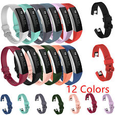 For Fitbit Alta HR Tracker Replacement Soft Silicone Sports Wristband Band Strap