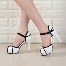 Breathable Open Toes Lady Sandals Summer Platform Shoes Thin Heel Shoes KK