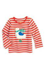 Toddler Boy's Mini Boden 'Big Applique' T-Shirt, Size 0-3M & 3-6M - Red ~NWT~