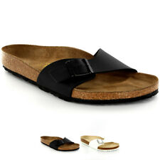 Unisex Adults Birkenstock Madrid Slides Birko-Flor Beach Mules Sandals US 5-12