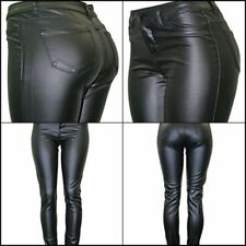 Cielo Sexy Women's Super Trendy Faux Leather Skinny Pants