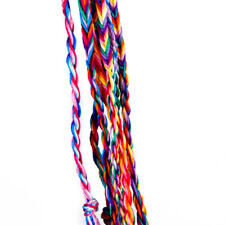 9pcs Lot Braid Strands Friendship Cords Handmade Bracelets Fashion Jewelry