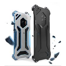 For Samsung Galaxy S9 S9+ R-just Gundam Shockproof Armor Bumper Case Cover