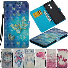 For Xiaomi Redmi 4A/4X/Note 5A 3D Magnetic Leather Wallet Flip Stand Case Cover