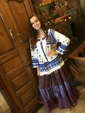 HIPPIE GYPSY BOHO BLOUSE TOP ETHNIC INDIAN EMBROIDERED WOMENS KURTI TUNIC DRESS