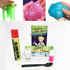 Slime Making Kit Make Your Own Stretchy Fun Science Educational Kids Toy LM 03