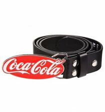 Official Coca-Cola Logo Belt And Buckle